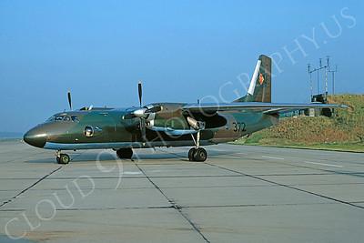 Antonov An-24 Coke 00005 Antonov An-24 Coke East German Air Force 372 via African Aviation Slide Service