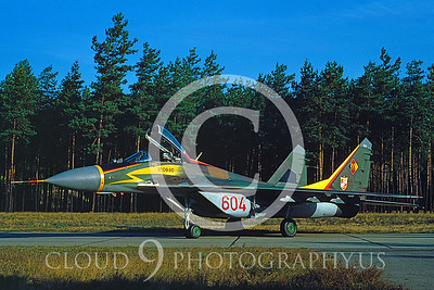 EE-MiG-29 00003 Mikoyan-Guryervich MiG-29 East German Air Force by Jens Schmidtgen via AASS