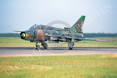 Sukhoi Su-22 Fitter 00005 Sukhoi Su-22 Fitter East German Air Force August 1990 via African Aviation Slide Service