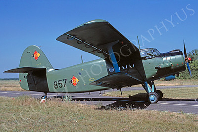 Antonov An-2 Colt 00005 Antonov An-2 Colt East German Air Force 857 August 1990 via African Aviation Slide Service