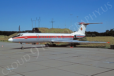 Tupolev Tu-134 00005 Tupolev Tu-134 East German Air Force via African Aviation Slide Service
