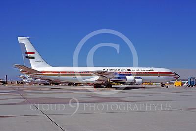 VIP-F 00001 Boeing 707 Republic of Egypt SU-AXJ November 1978 by Peter J Mancus