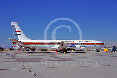 VIP-F 00001 Boeing 707 Republic of Egypt SU-AXJ November 1978 by Peter J Mancus