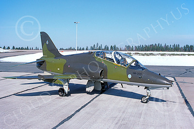 BAE Hawk 00045 A static BAE Systems Hawk Finnish Air Force HW-305 Kauhava 4-1994 military airplane picture by Jyrki Laukkanen