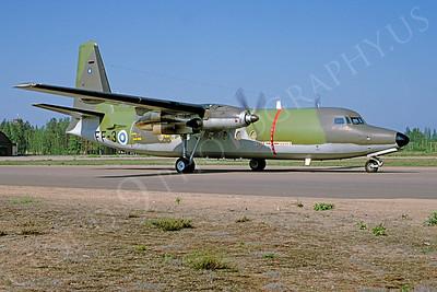 Fokker F27 Friendship 00009 Fokker F27 Friendship Finnish Air Force FF-3 via African Aviation Slide Service