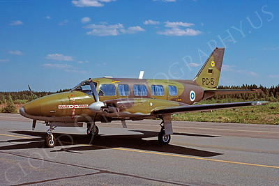 Piper PC-5 00001 Piper PC-5 Finnish Air Force June 1997 via African Aviation Slide Service