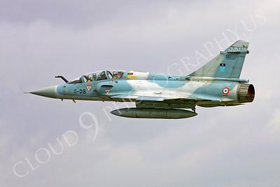 Dassault Mirage 2000 00008 Dassault Mirage 2000 French Air Force 5-OB by Paul Ridgway