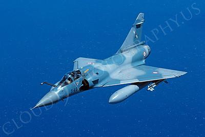 Dassault Mirage 2000 00020 Dassault Mirage 2000 French Air Force 5-AO April 1995 via African Aviation Slide Service