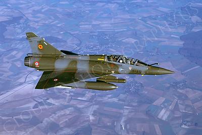 Dassault Mirage 2000 00014 Dassault Mirage 2000 French Air Force 3-JU via African Aviation Slide Service
