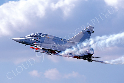 Dassault Mirage 2000D 00004 Dassault Mirage 2000D French Air Force BX1 November 1990 by Peter J Mancus