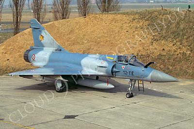Dassault Mirage 2000 00007 Dassault Mirage 2000 French Air Force 12-YE via African Aviation Slide Service