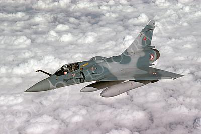 Dassault Mirage 2000 00012 Dassault Mirage 2000 French Air Force 12 October 1997 via African Aviation Slide Service