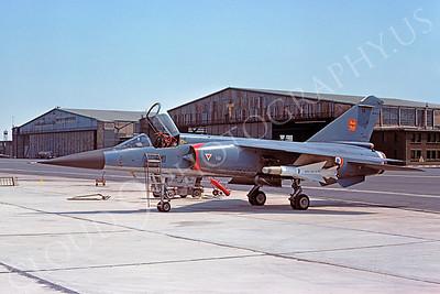 Dassault Mirage F-1 00017 Dassault Mirage F-1 French Air Force 27 June 1976 by S W D Wolf