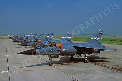 Dassault Mirage F-1 00015 Dassault Mirage F-1 French Air Force 12-ZP June 1979 by Wilfried Zetsche