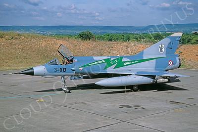 Dassault Mirage III 00037 Dassault Mirage III French Air Force 3-XO August 1998 via African Aviation Slide Service