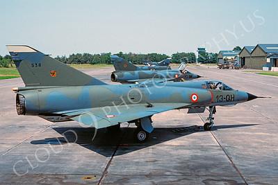 Dassault Mirage III 00003 Dassault Mirage French Air Force 13-OH via African Aviation Slide Service