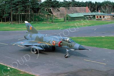Dassault Mirage III 00025 Dassault Mirage III French Air Force 2-LT September 1977 by Kurth Thomsen