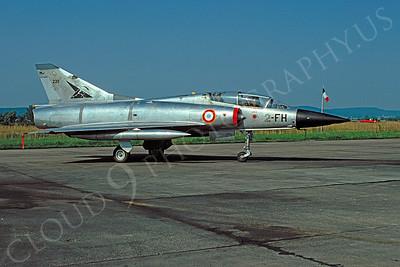 Dassault Mirage IIIB 00005 Dassault Mirage IIIB French Air Force 2-FH 3 July 1977 by Alex Staruszkiewicz