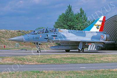 Dassault Mirage IIIB 00007 Dassault Mirage IIIB French Air Force 5-OU via African Aviation Slide Service