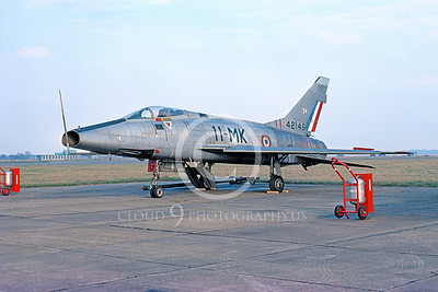 F-100Forg 00005 North American F-100D Super Sabre French Air Force 42146 February 1976 by Ray Leader via African Aviation Slide Service
