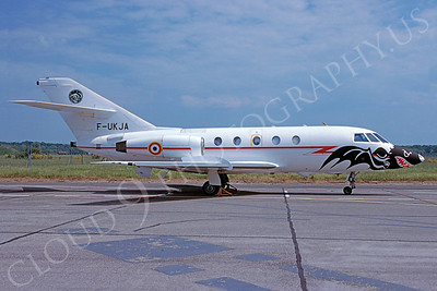 Dassault Falcon 200 00003 Dassault Falcon 200 French Air Force F-UKJA May 1998 via African Aviation Slide Service