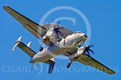 E-2Forg 00014 Grumman E-2 Hawkeye French Navy military airplane picture by Stephen W D Wolf