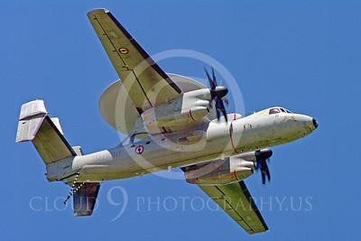 E-2Forg 00004 Grumman E-2 Hawkeye French Navy military airplane picture by Stephen W D Wolf