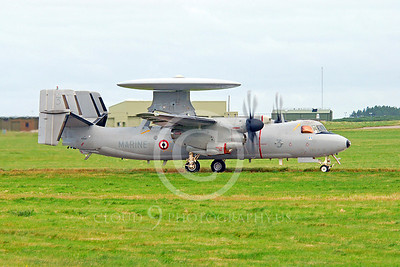E-2 00101 Grumman E-2C Hawkeye French Navy 166417 by Alasdair MacPhail