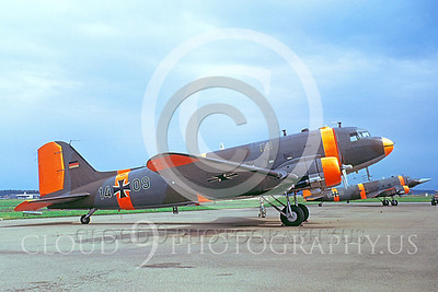 C-47Forg 00003 Douglas C-47D Skytrain German Air Force 1409 26 July 1973 by Clive Moggoridge
