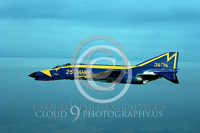 EE-F-4FORG 00010 F-4F German Air Force Sept 1986 by Wilfried Zetsche from AirDOC Collection
