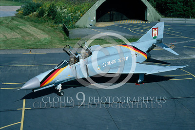 EE-F-4FORG 00013 F-4F German Air Force July 1989 by Wilfried Zetsche from AirDOC Collection
