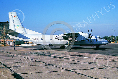 An-26 00005 A static Antonov An-26 Curl German Air Force 9-1992 military airplane picture by Ben Reed