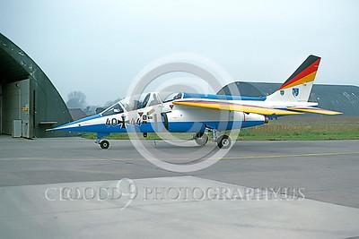 EE-Alpha Jet 00005 Dassault Alpha Jet German Nov 1984 by M Krassort via AASS