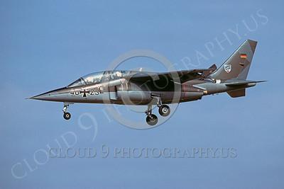 Dassault Alpha Jet 00004 Dassault Alpha Jet German Air Force 12 March 1980 by Wieland Stolze
