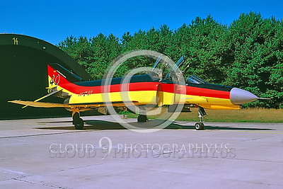 EE-F-4FORG 00009 F-4F German Air Force April 2001 by Wilfried Zetsche from AirDOC Collection