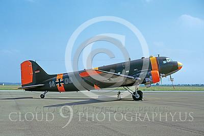 C-47Forg 00031 Douglas C-47 Skytrain German Air Force 11 June 1973 by Wilfried Zetsche