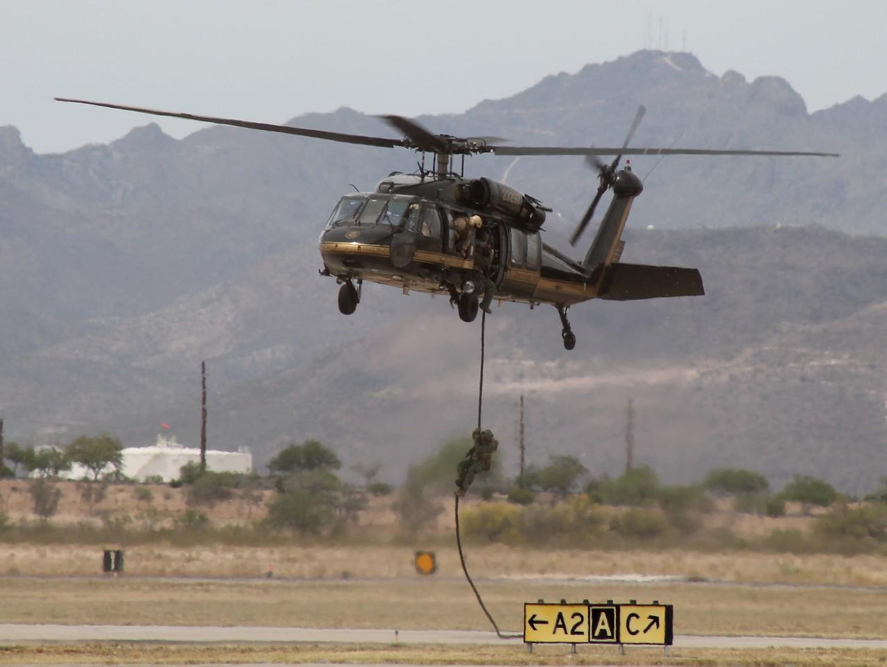 U.S. Customs & Border Protection at Davis-Monthan AFB Tucson, AZ - 4-12-2014