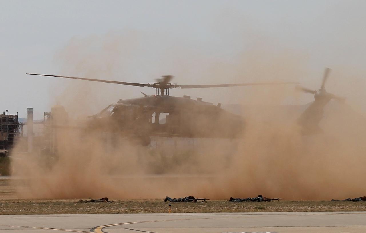 U.S.A.F. H60 at Davis-Monthan AFB Tucson, AZ - 4-12-2014