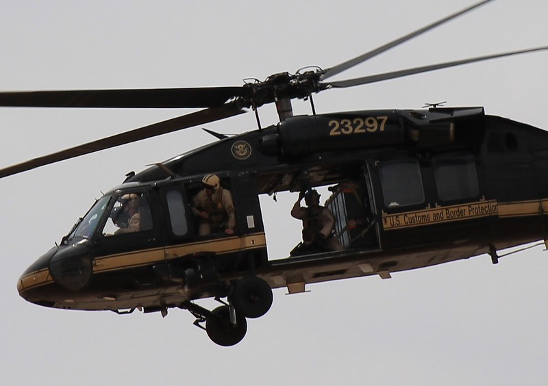 U.S. Customs & Border Protection at Davis-Monthan AFB Tucson, AZ - 4-12-2014