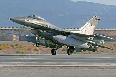 F-16Forg 00307 Lockheed Martin F-16 Fighting Falcon Hellenic Air Force 511 Nellis AFB by Tim Wagenknecht