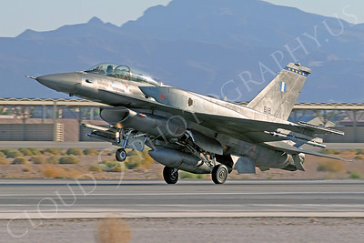F-16Forg 00303 Lockheed Martin F-16 Fighting Falcon Hellenic Air Force 618 Nellis AFB by Tim Wagenknecht