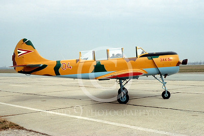 Yakovlev Yak-52 00001 Yakovlev Yak-52 Hungarian Air Force April 1994 via African Aviation Slide Service