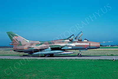 Sukhoi Su-22 Fitter 00003 Sukhoi Su-22 Fitter Hungarian Air Force September 1992 by Jens Schmidtgen via African Aviation Slide Service