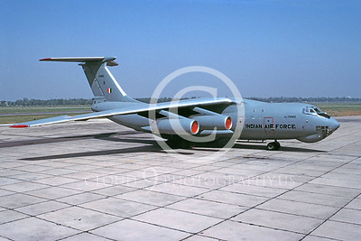 Ilyushin Il-76 Candid 00007 Ilyushin Il-76 Candid Indian Air Force November 2001 via African Aviation Slide Service