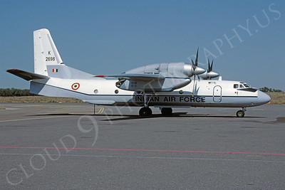 Antonov An-32 Cline 00003 Antonov An-32 Cline Indian Air Force K2698 February 1998 via African Aviation Slide Service