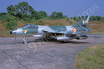 Hawker Hunter 00027 Hawker Hunter Indian Air Force November 1999 via African Aviation Slide Service