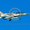 F-16-Israeli 0008 A landing Lockheed Martin F-16 Fighting Falcon Israeli Air Force 673 jet fighter 8-1993 military airplane picture by Michael Grove