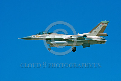 F-16-Israeli 0004 A landing Lockheed Martin F-16 Fighting Falcon Israeli Air Force 348 jet fighter 8-2003 military airplane picture by Michael Grove