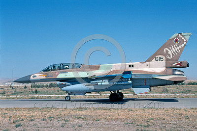 F-16-Israeli 0003 A taxing Lockheed Martin F-16 Fighting Falcon Israeli Air Force 615 jet fighter with a large scorpion on the tail military airplane picture by Keith Hedridge