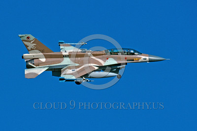 F-16-Israeli 0006 A banking and landing Lockheed Martin F-16 Fighting Falcon Israeli Air Force 336 jet fighter 8-2003 military airplane picture by Michael Grove